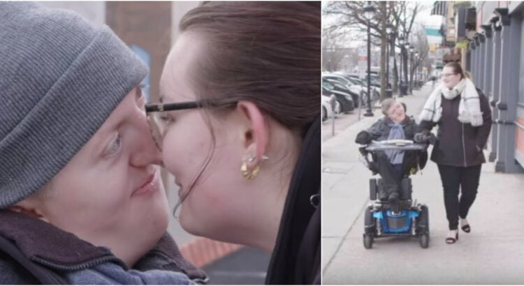 Neeilinė pora, prikaustanti visų dėmesį ir parodanti kas yra tikra meilė