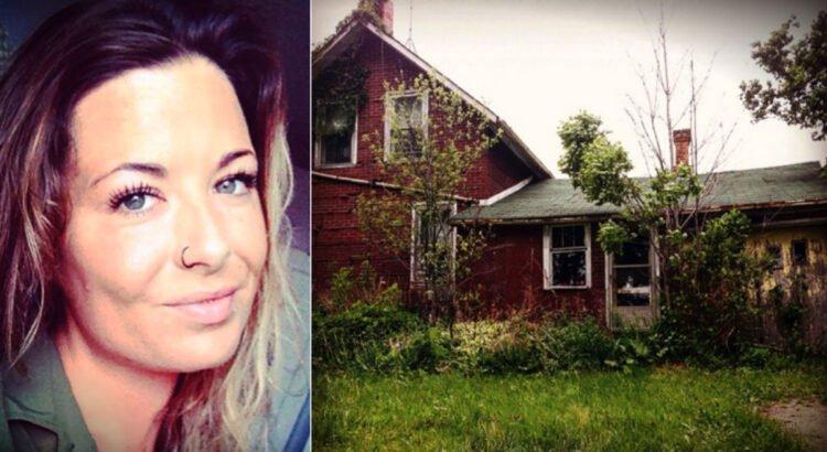 Fotografė rado apleistą namą ir nusprendė pafotografuoti jo vidų, tačiau viduje laukė netikėtumas, kuri vos neįvarė jai širdies smūgio
