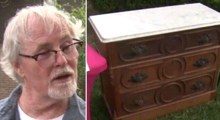 Vyras nusipirko antikvarinę komodą, tačiau radęs slaptą stalčių jis negalėjo patikėti savo sėkme