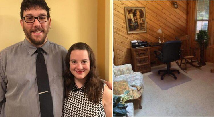 Pora nusipirko namą, kuriame vienas iš kambarių slėpė tai, kas atėmė jiems žadą