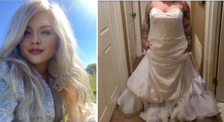 Nuotaka pasiskundė gauta suknele, kuri visiškai nepanaši į esančią nuotraukoje. Jos skundas sukėlė tikrą audrą internete