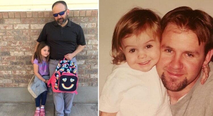 Tėvui paskambino iš jo 6-metės dukros mokyklos ir paprašė atvykti, nes mergaitė apsišlapino. Visa administracija išpūtė akis pamačiusi, kaip tėtis paguodė dukrą