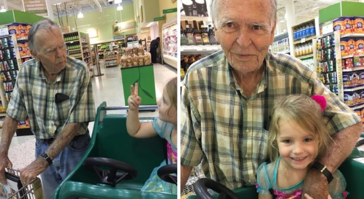 4-metė mergaitė iš niekur nieko parduotuvėje užkalbino senuką. Jis nė neįsivaizdavo, kaip ši atsitiktinė pažintis pakeis jo gyvenimą