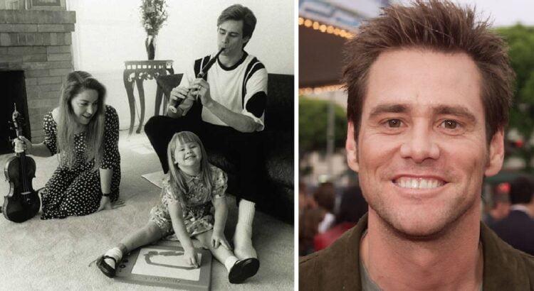 Jim Carrey - vienas žinomiausių aktorių pasaulyje, tačiau mažai kas žino, kaip atrodo jo 33 metų dukra