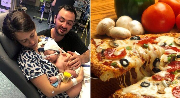 Nauja mama netikėtai laimėjo netikėtą prizą - net 60 metų nemokamos picos. Viską lėmė jos naujgimiui suteiktas vardas