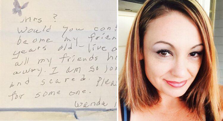 Moteris pamatė senyvą kaimynę įmetant jai į pašto dėžutę laišką. Jo turinys giliai sujaudino moterį ir privertė susimąstyti
