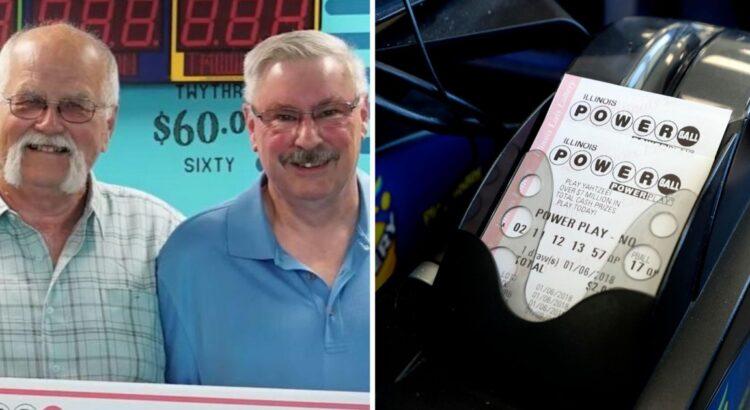 Vyras laimėjo loterijoje 22 milijonus dolerių. Jis iš karto paskambino draugui, kuriam davė pažadą prieš 28 metus