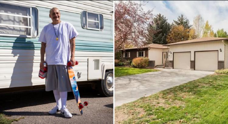 Prieš 4 mėnesius jis gyveno treileryje, o dabar - 5 miegamųjų name. Vyras parodė, kad šiandien sėkmė gali nukristi iš giedro dangaus