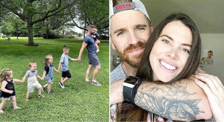 Pora įsivaikino 4 vaikus ir susilaukė ilgai laukto biologinio sūnaus. Tačiau po metų mama pajuto, kad kažkas ne taip