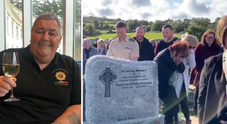 Vyras pralaimėjo kovą su liga ir mirė, tačiau jo laidotuvių metu visi prapliupo juokais, kai išgirdo jo balsą sklindant tiesiai iš kapo