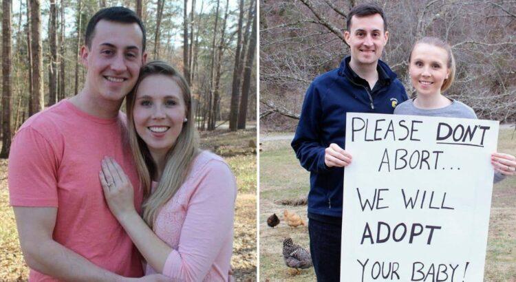 Pora internete kreipėsi į moteris, planuojančias abortą, su prašymu to nedaryti. Jie buvo šokiruoti atsako, kurio sulaukė po kelių dienų