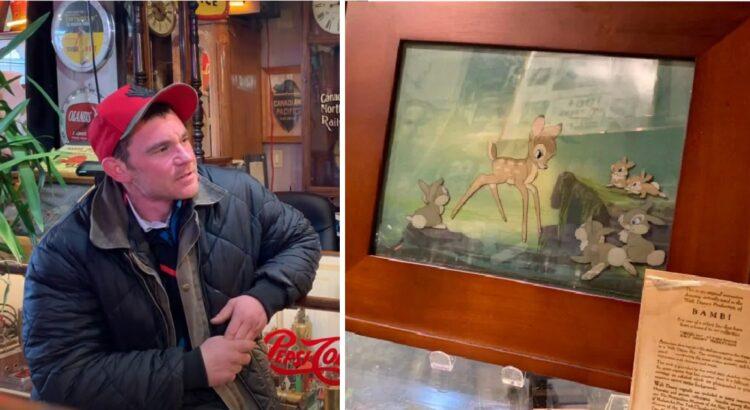 Benamis į antikvarinių dirbinių parduotuvę atnešė daiktą, kurį pardavė už 20 dolerių. Paaiškėjus tikrajai daikto vertei vyras nusprendė rasti benamį