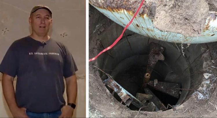 Vyras tyrinėjo savo kiemą su metalo detektoriumi. Tai, ką jis atrado, atrodė kaip iš fantastinio filmo