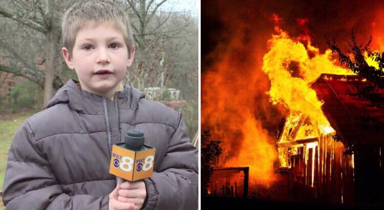 Kilus gaisrui tėvai skubėjo gelbėti savo vaikų. Mama pašiurpo pamačiusi, kaip tėvas stumia 7-metį sūnų atgal į degantį namą, tačiau tam buvo priežastis