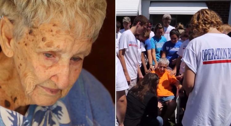 90-metės senutės giminaitis užvertė jos kiemą šiukšlėmis, dėl kurių jai grėsė tūkstantinės baudos. Neturėdama iš ko prašyti pagalbos ji paskambino nepažįstamiesiems