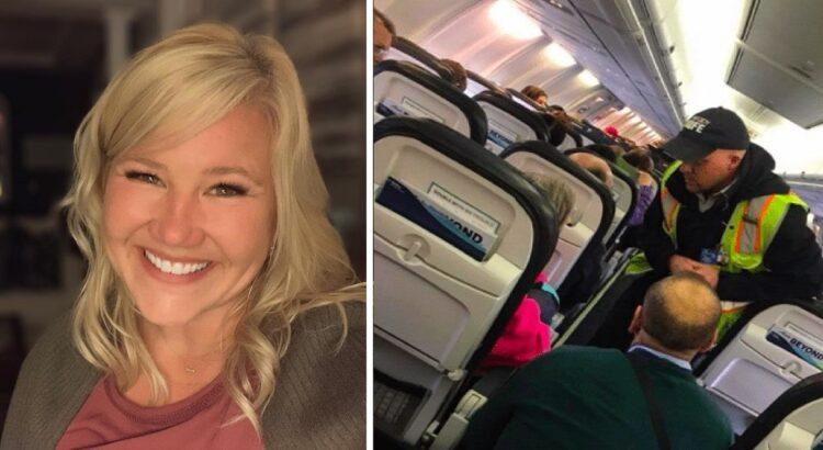 Lėktuvas negalėjo palikti oro uosto dėl neaiškios priežasties. Netrukus viena moteris išsitraukė telefoną ir nufotografavo, kas vyko