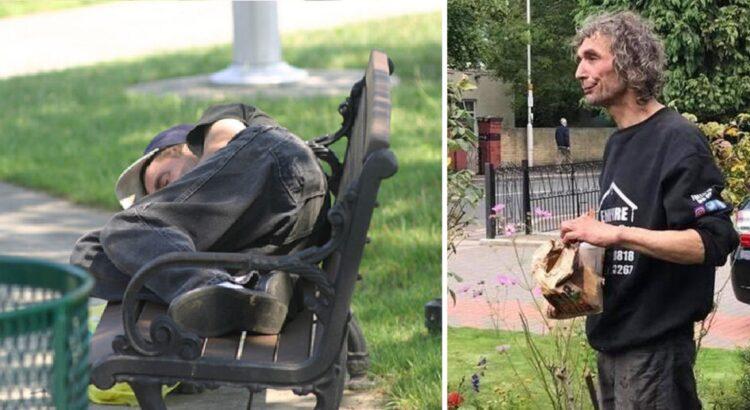 Statybininkai pamatė parke miegantį benamį ir nusprendė jį pavaišinti arbata. Tačiau darbininkus šokiravo neįprastas klausimas, kurį uždavė dėkingas benamis