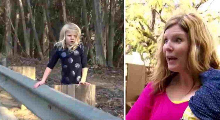 Moteris važiuodama greitkeliu pastebėjo mažą mergaitę, mojuojančią šalikelėje. Sustojusi prie jos moteris pamatė tai, kas atėmė jai žadą