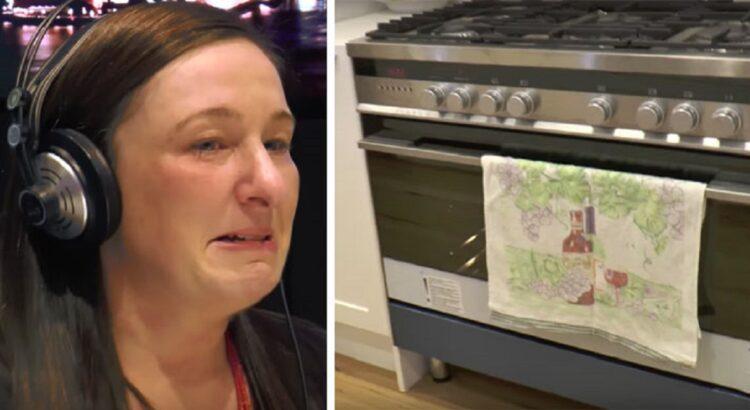 36-ias savaites nėščią moterį paliko vyras. Ją ištiko šokas, kai radijo laidoje ji pamatė video iš savo namų, kuriuose apsilankė nepažįstamieji