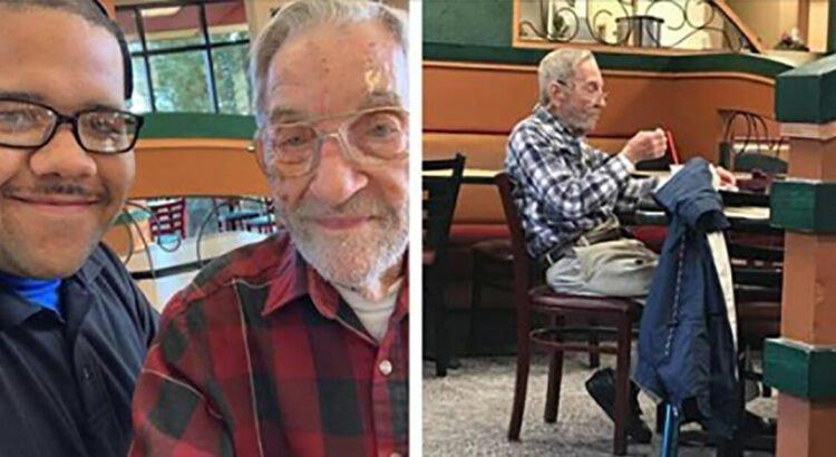 97-erių metų veteranas kasdien valgo tą patį, toje pačioje kavinėje. Jis negalvojo, kad į jo lojalumą bus atsakyta labai netikėtai