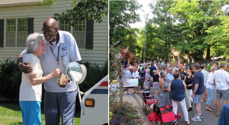 Kai po 35 metų darbo paštininkas ruošėsi išeiti į pensiją, jo bendruomenė nutarė padaryti jam staigmeną. Tai, ką vyras pamatė paskutinę darbo dieną, jį šokiravo