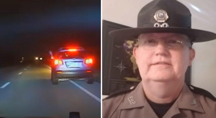 Policija sustabdė viduryje nakties greitį viršijantį automobilį, tačiau kai suprato, kas sėdi keleivio sėdynėje, jie patyrė šoką