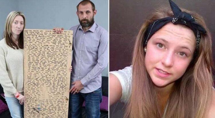 13-metė paauglė po sunkios kovos su vėžiu ją pralaimėjo. Mama po laidotuvių rado jos parašytą išmintingą laišką, kurią reikia perskaityti visiems