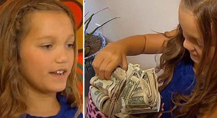 Mergaitei grįžus namo iš mokyklos jos mama kuprinėje rado milžinišką sumą grynųjų. Mama negalėjo patikėti tuo, ką be jos žinios padarė dukra