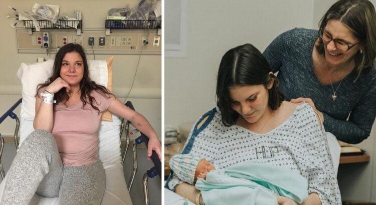 17-metė nekantriai laukė savo pirmagimio, tačiau vienas vizitas pas gydytojus apvertė viską aukštyn kojomis. Netrukus jai teko rinktis - jos ar kūdikio gyvybė