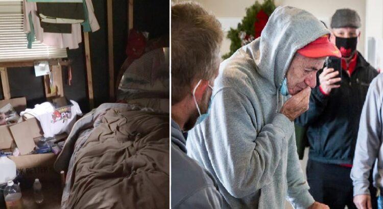 Socialinės tarnybos norėjo iškeldinti senolį iš jo namų, kurie buvo nesaugūs gyventi. Tačiau tai, kaip pasielgė jo bendruomenė, pasiekė net žiniasklaidą