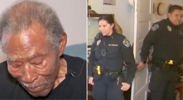 Policija atvyko pas 92-ejų metų senolį dėl nutikusios vagystės, tačiau vyro name pareigūnai pamatė kur kas didesnį pavojų, kuris privertė juos veikti