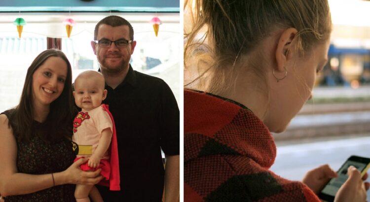 Žmona prašė vyro, prižiūrinčio jų mažylę, dienos metu atsiųsti jos nuotraukų. Mamai pasidarė silpna kai ji pamatė, kaip vyras elgiasi su jų dukra