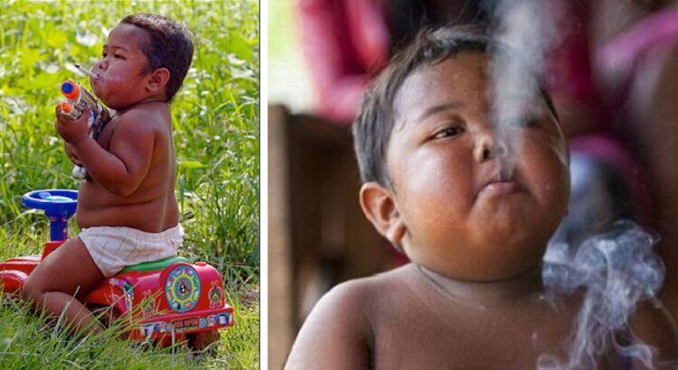 Prieš 11 metų visą pasaulį šokiravo 2-metis, surūkantis du pakelius cigarečių į dieną. Štai kaip berniukas gyvena šiandien