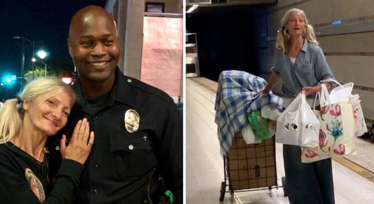 Patruliavęs metro policininkas stabtelėjo pamatęs benamę moterį. Jis patyrė šoką dėl to, kokią paslaptį slėpė benamė, tačiau vyras nufilmavo ją ir išgarsino visame pasaulyje