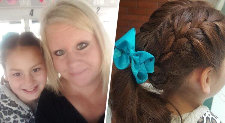 Mirus jos mamai, mergaitė į mokyklą vaikščiojo su susivėlusiais, nesutvarkytais plaukais. Kartą dukra grįžo su nuostabia šukuosena, o tėtis sužinojo jautrią paslaptį