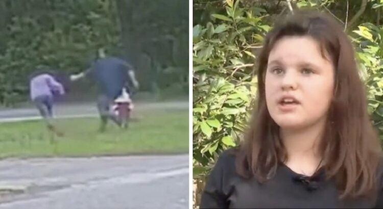 Kai 11-metė laukė mokyklinio autobuso, prie jos pribėgo vyras ir pasikėsino ją pagrobti. Mergaitės gudrių veiksmų dėka jam nepavyko ir jis buvo greitai pagautas