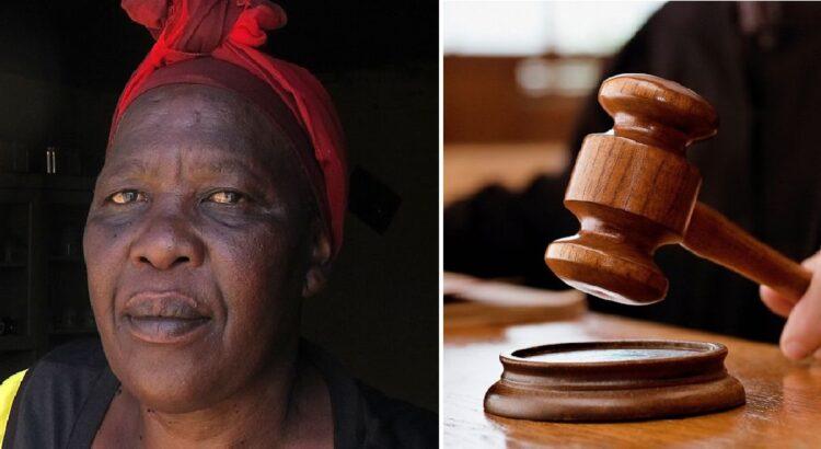Gindama žaginamą dukrą, moteris to nenorėdama nužudė vieną iš trijų prievartautojų. Kai moteris stojo prieš teisėją už nužudymą, ji išgirdo 4 lemtingus žodžius
