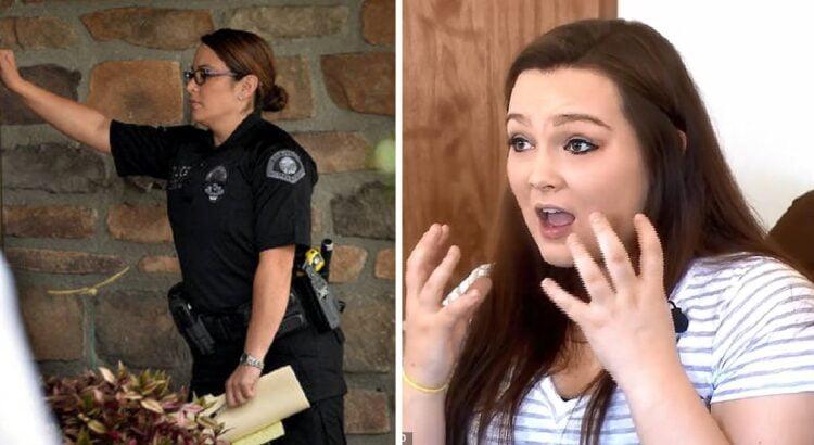 Padavėja aptarnavo šeimą ir pastebėjo, kad su šeima buvęs dvimetis atrodo labai įtartinai. Jos įrašas Facebooke lėmė, kad netrukus į šeimos namus pasibeldė policija