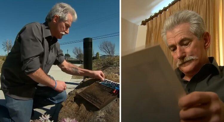 Vyras 13 metų lankė vietą, kurioje žuvo jo sūnus. Vieną dieną jis prie savo paliktų gėlių rado raštelį, kurio turinys jį išvertė iš kojų
