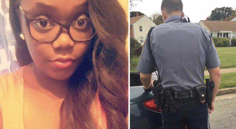 Pareigūnas paprašė vairuotojos atidaryti bagažinę, tačiau nenutuokė, kad yra fotografuojamas iš galo. Tokio poelgio iš policininko moteris nesitikėjo