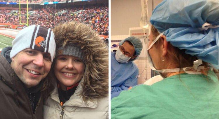 Moteris pagimdė dvynukes, tačiau netrukus gydytoja pradėjo verkti. Mama pažvelgė į savo dukreles ir suprato, kas nutiko