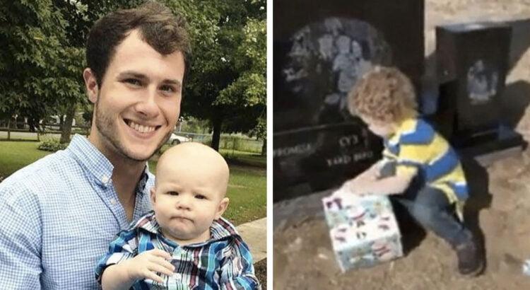 Jaunas vyras nesuvaldė automobilio ir žuvo. Po 8 mėnesių mama su sūnumi apsilankė prie tėčio kapo ir rado paliktą dėžę, kurios turinys iš karto sugraudino