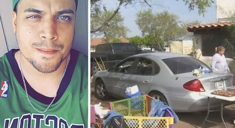 Vyras pastebėjo, kad kaimynė miega sename automobilyje priešais savo namą. Po kiek laiko paaiškėjo, kodėl ji taip nenori eiti į namo vidų