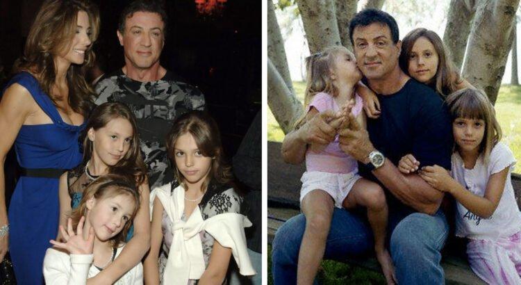 Legendinio aktoriaus Sylvester Stallone dukros jau užaugo. Štai kaip atrodo nuostabaus grožio merginos šiandien